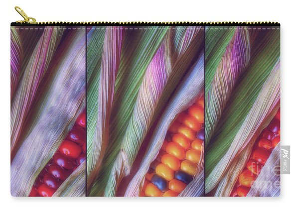 Colorful Corn Trio Carry-all Pouch
