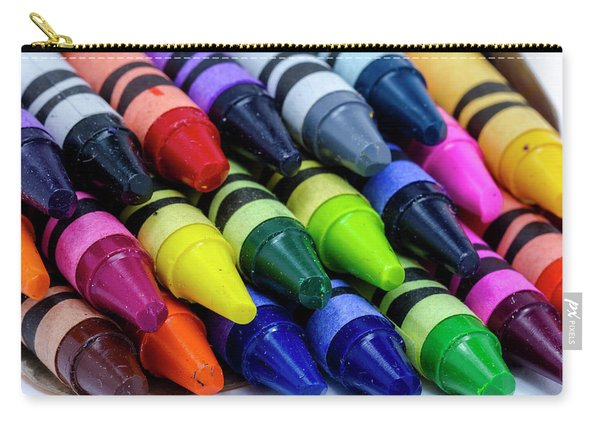 Colorful Crayons Carry-all Pouch