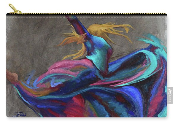Colorful Dancer Carry-all Pouch