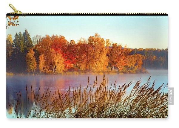 Colorful Dawn On Haley Pond Carry-all Pouch