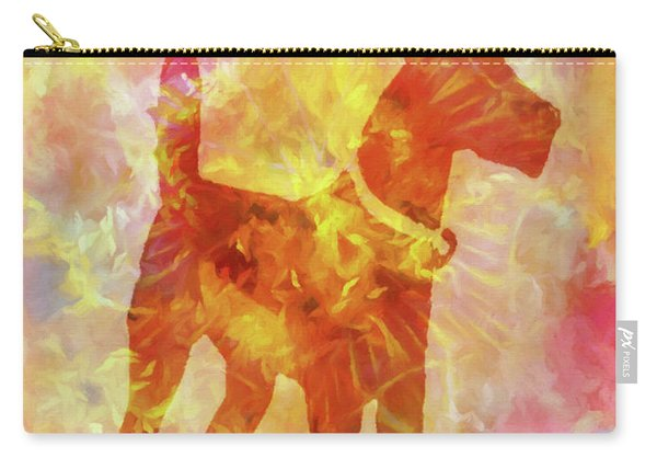 Colorful Dog Carry-all Pouch