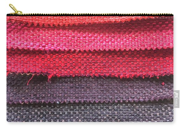 Colorful Fabric Samples Carry-all Pouch