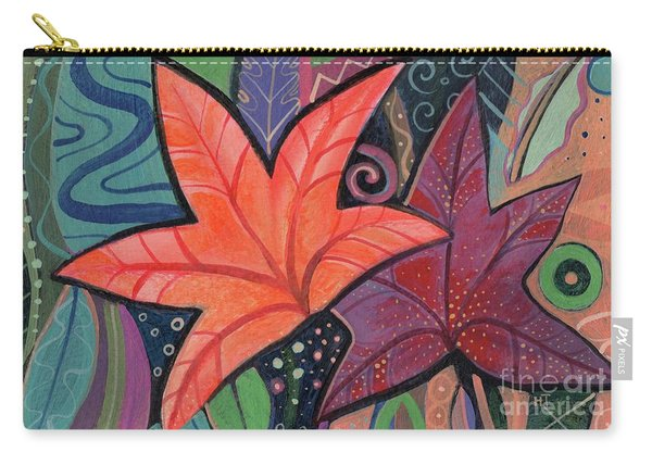 Colorful Fall Carry-all Pouch