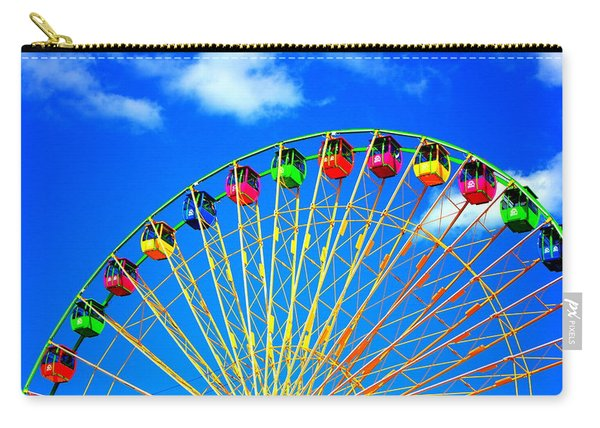 Colorful Ferris Wheel Carry-all Pouch