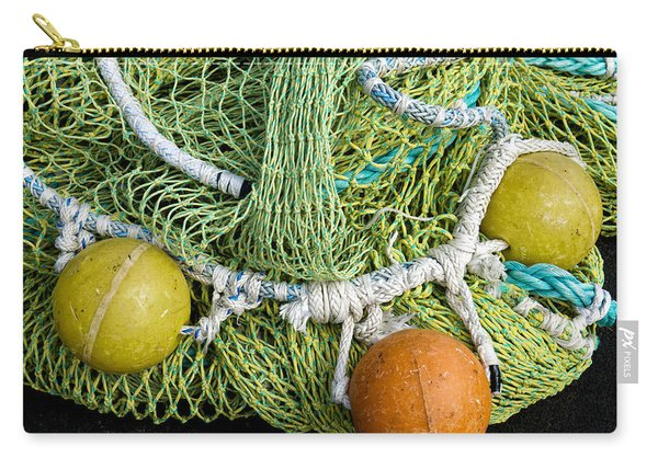Colorful Fishing Nets And Buoys Carry-all Pouch
