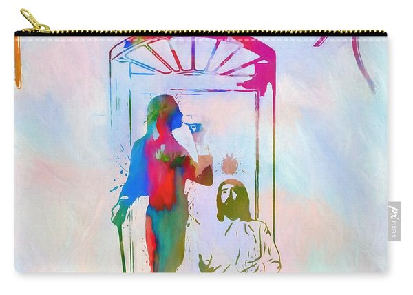 Colorful Fleetwood Mac Cover Carry-all Pouch