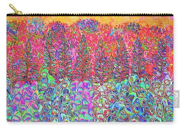 Colorful Garden Carry-all Pouch
