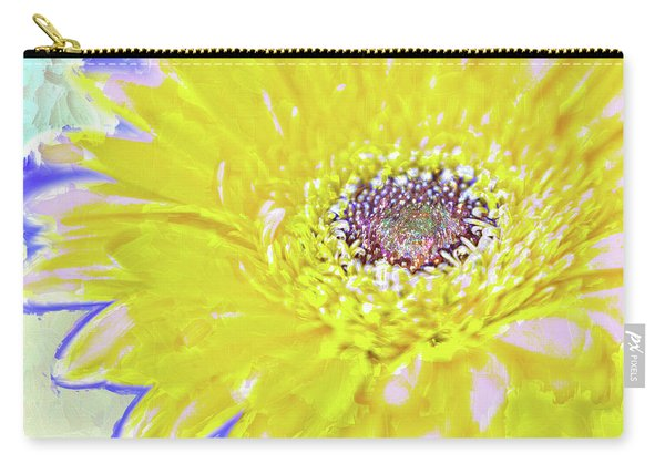 Colorful Gerbera Carry-all Pouch