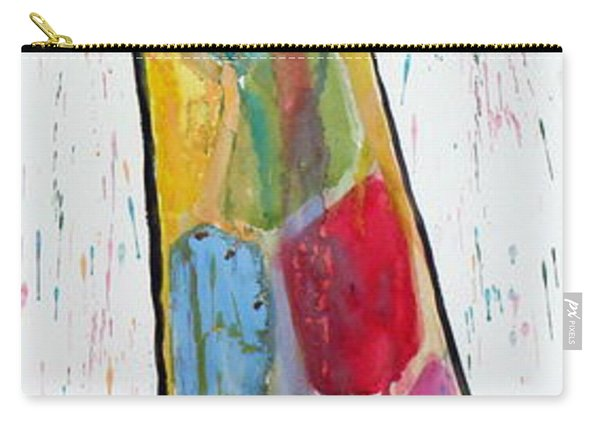 Colorful Giraffe Carry-all Pouch