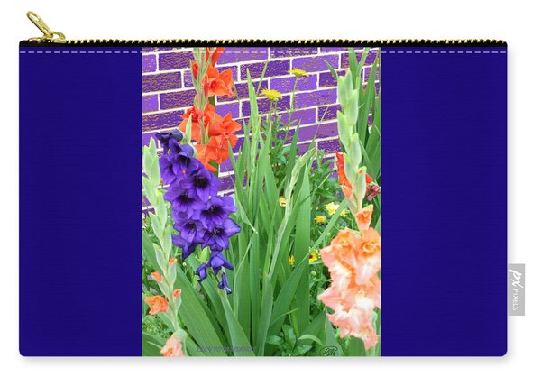 Colorful Gladiolas Carry-all Pouch