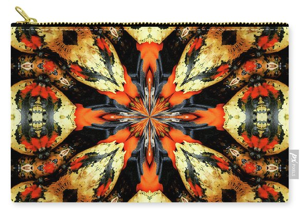 Colorful Gourds Abstract Carry-all Pouch