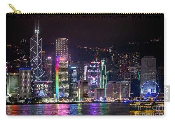 Colorful Hong Kong Carry-all Pouch