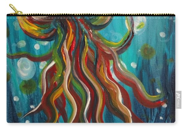 Colorful Jellyfish Carry-all Pouch