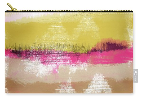 Colorful Landscape 28- Art By Linda Woods Carry-all Pouch