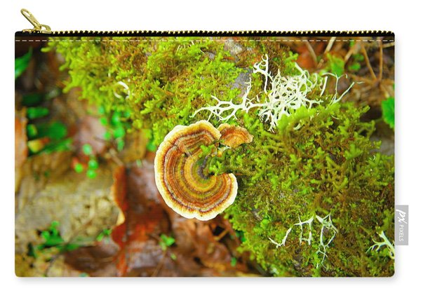 Colorful Lichen Carry-all Pouch