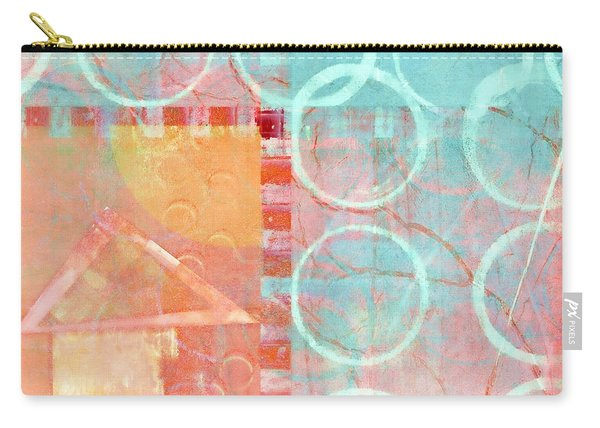 Colorful Little House 1 Carry-all Pouch