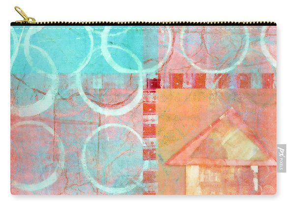 Colorful Little House 2 Carry-all Pouch