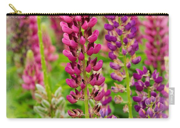 Colorful Lupine Carry-all Pouch