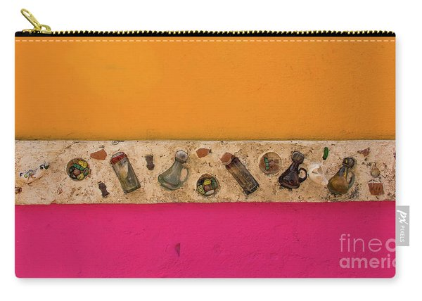 Colorful Mexico  Mexican Art By Kaylyn Franks Carry-all Pouch