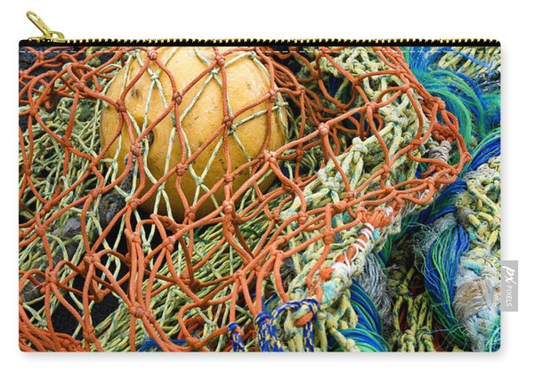Colorful Nets And Float Carry-all Pouch