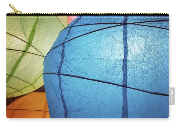Colorful Paper Lanterns Carry-all Pouch