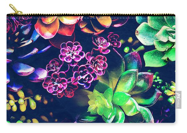 Colorful Plants  Carry-all Pouch