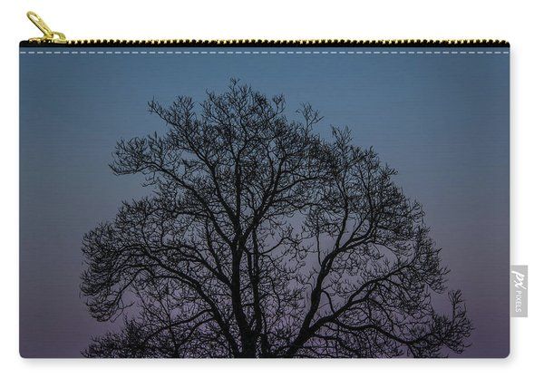 Colorful Subtle Silhouette Carry-all Pouch