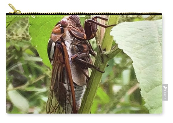 Colorful Summer Cicada Carry-all Pouch