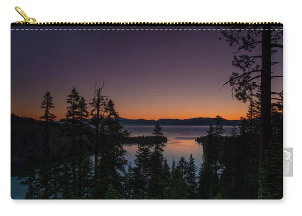 Colorful Sunrise In Emerald Bay Carry-all Pouch