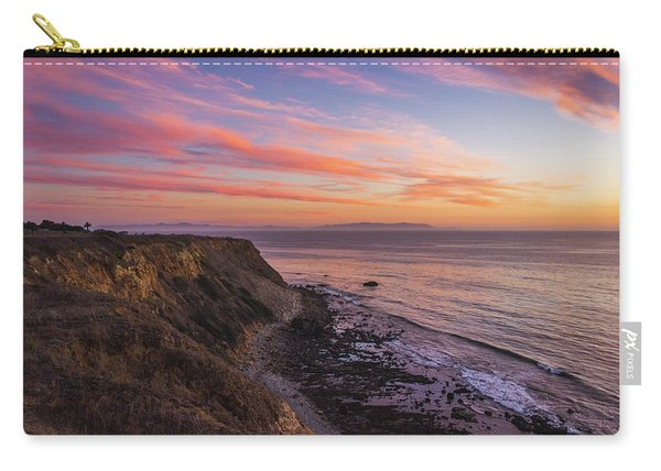 Colorful Sunset At Golden Cove Carry-all Pouch