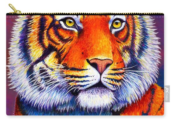 Fiery Beauty - Colorful Bengal Tiger Carry-all Pouch