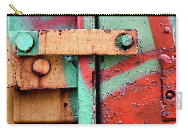Colorful Train Details Carry-all Pouch