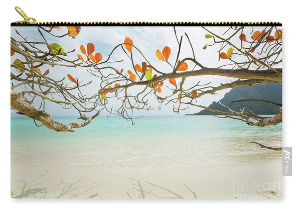 Colorful Tree North Shore Carry-all Pouch