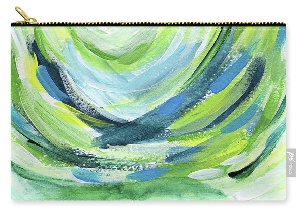 Colorful Uprising 7- Art By Linda Woods Carry-all Pouch
