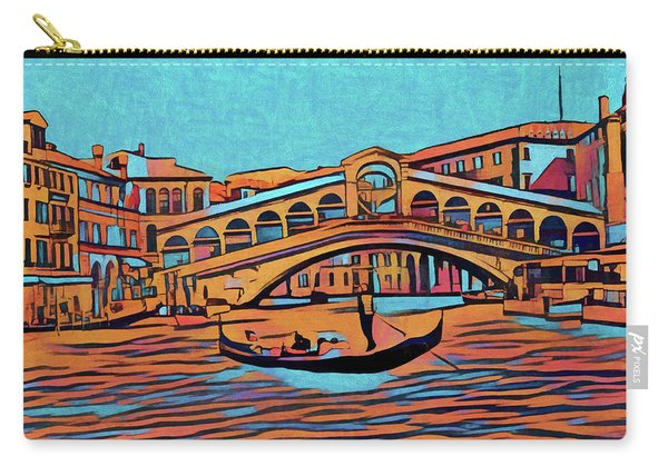 Colorful Venice Carry-all Pouch