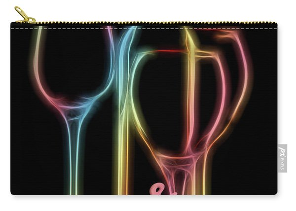 Colorful Wine Carry-all Pouch