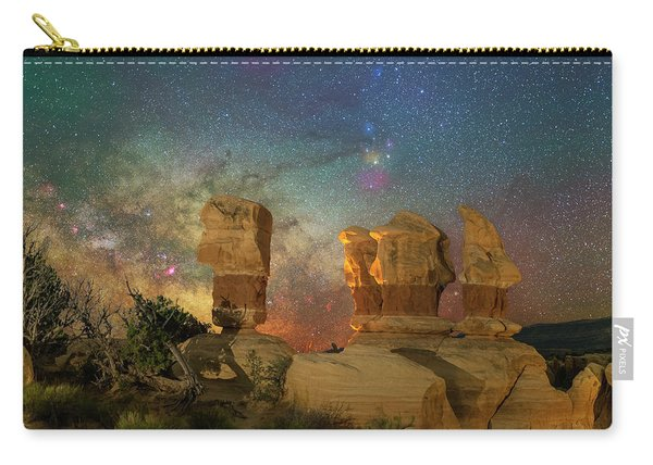 Colors Of Darkness Carry-all Pouch