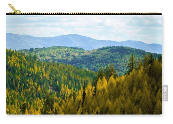 Colors Of Sherman's Pass Carry-all Pouch