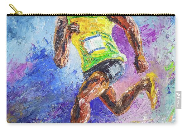 Colors Of Speed Carry-all Pouch