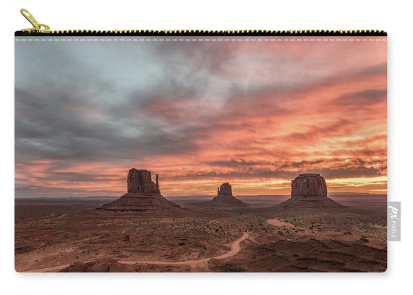Colors Of The Past Carry-all Pouch