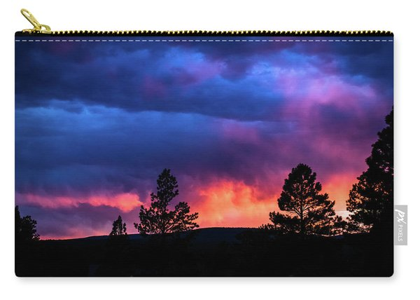 Carry-all Pouch featuring the photograph Colors Of The Spirit by Jason Coward