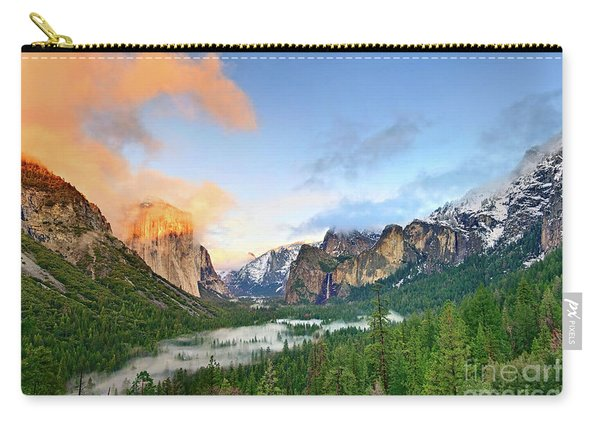 Colors Of Yosemite Carry-all Pouch