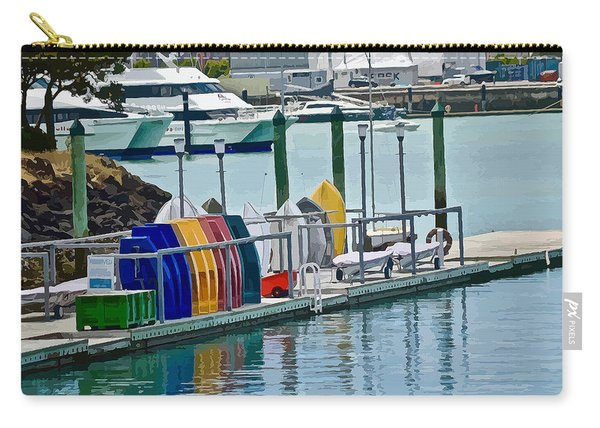 Colourful Dinghies Auckland Carry-all Pouch
