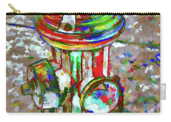 Colourful Hydrant Carry-all Pouch