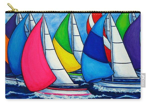 Colourful Regatta Carry-all Pouch