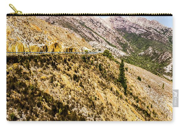 Colourful Stony Highlands Carry-all Pouch