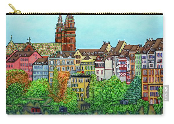 Basel, Colours Of Basel Carry-all Pouch