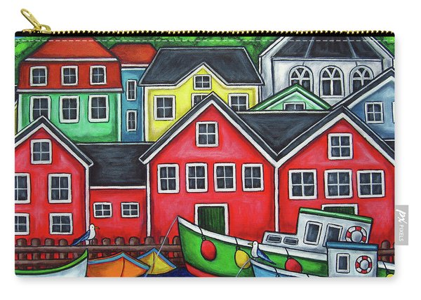 Colours Of Lunenburg Carry-all Pouch