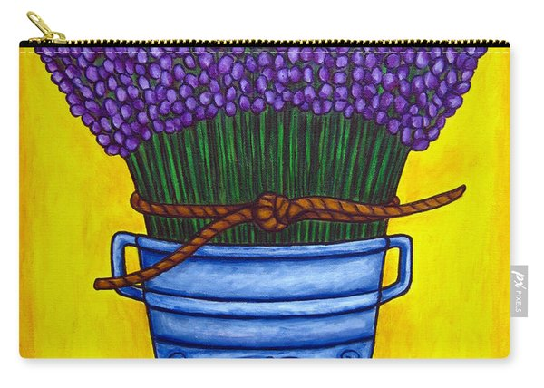 Colours Of Provence Carry-all Pouch