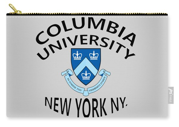 Columbia University New York Carry-all Pouch